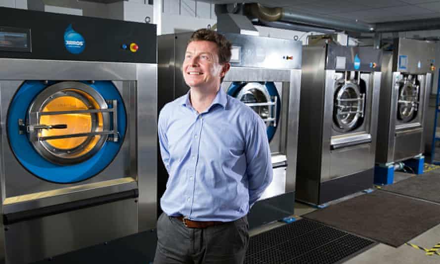 Bill Westwater, CEO at Xeros washing machines