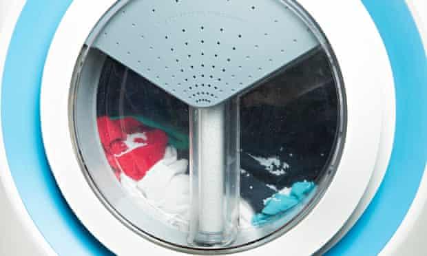 Xeros bead washing machine