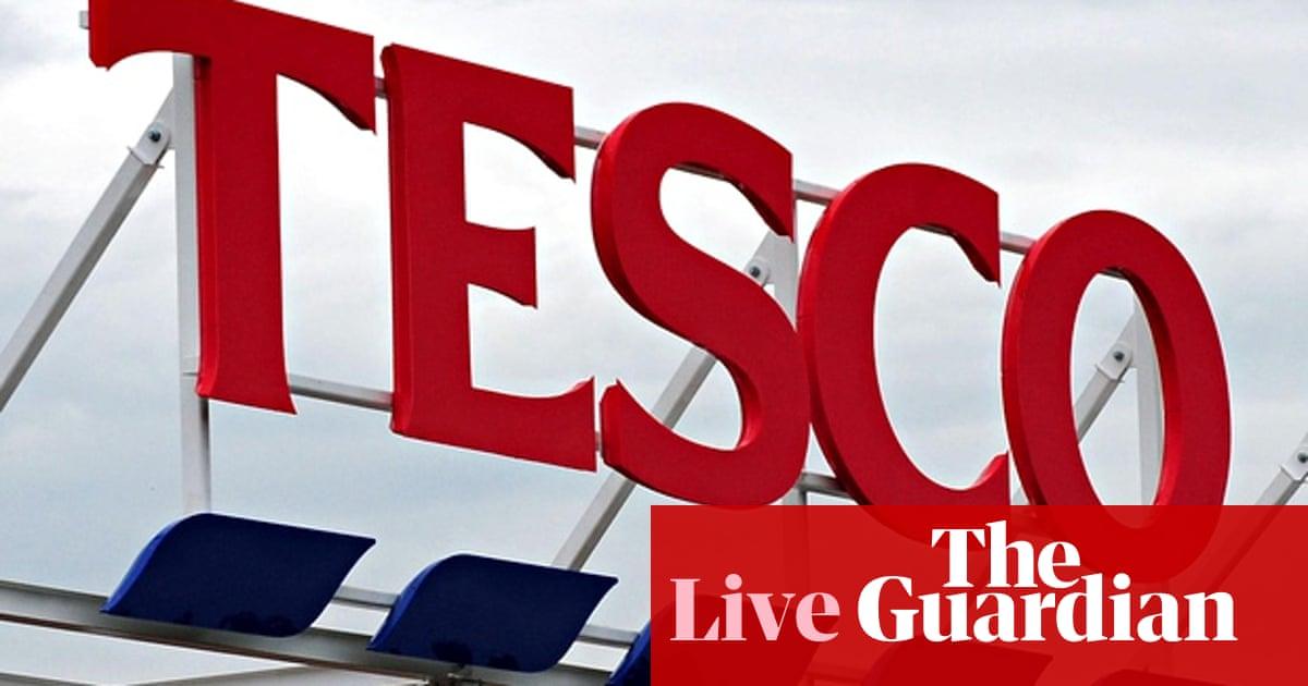Tesco updates City on profits black hole, as UK retail sales