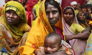 Dalits at a ceremony honouring survivors of caste-based atrocities. Dalits in Bihar have long faced