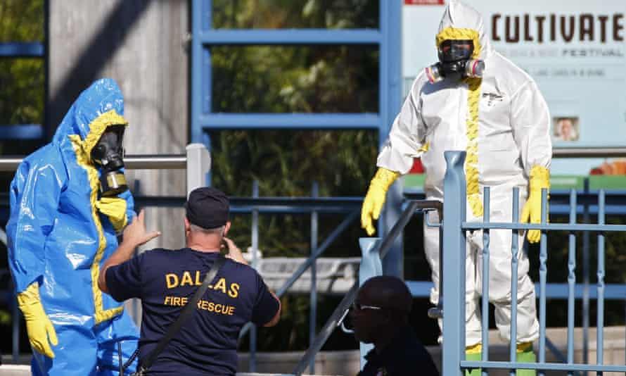 Dallas Ebola cleanup