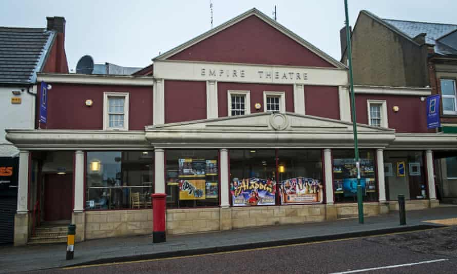 The Empire theatre in Consett. The council is pondering whether it can afford to maintain it.