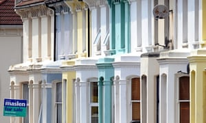Houses in Brighton, which Rightmove predicted would see some of the highest appreciation in prices t