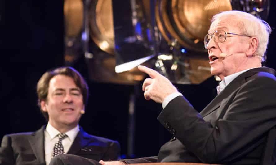 A night out with Sir Michael Caine
