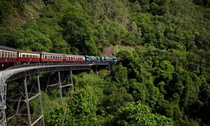 Kuranda Scenic railway Stoney Creek Falls bridge