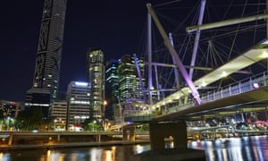 Kurilpa Bridge, Brisbane, QLD