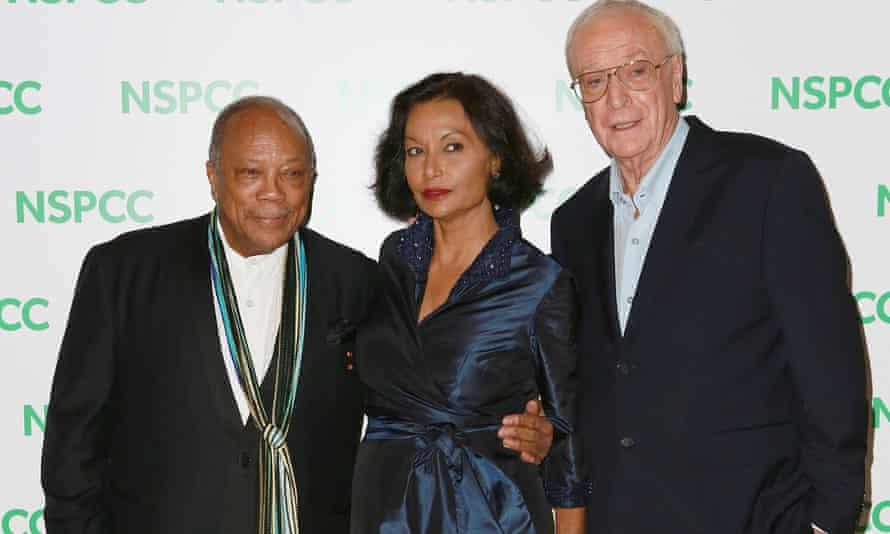 Quincy Jones, Shakira and Michael Caine.