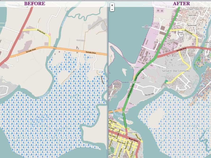 Monrovia, Liberia map