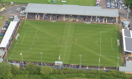 Forest Green Rovers pitch