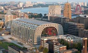 Rotterdam Markthal market