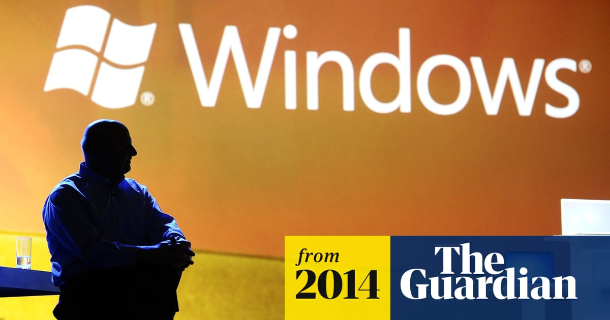 From Windows 1 to Windows 10: 29 years of Windows evolution | Technology |  The Guardian