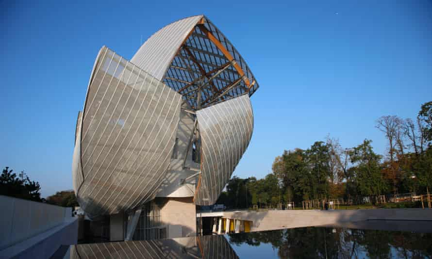The Louis Vuitton Foundation building