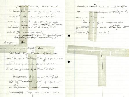 Margaret Thatcher speech notes 2