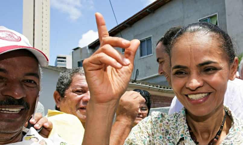 Brazilian presidential candidate Marina Silva