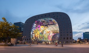 The new Rotterdam Markthal from MVRDV