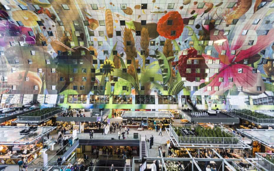 The new Markthal in Rotterdam