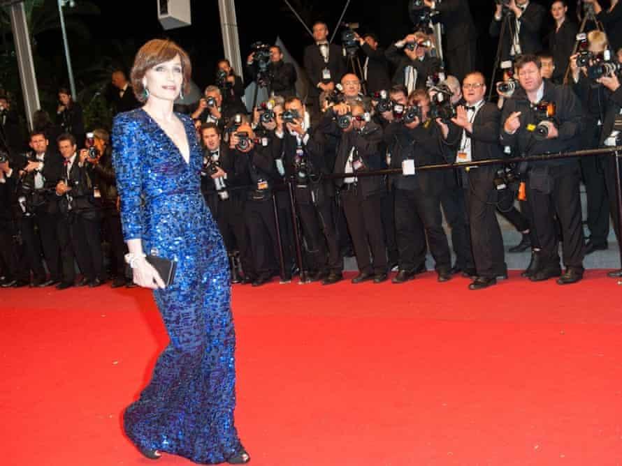 Kristin Scott Thomas at Cannes