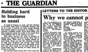 Guardian, 13 October 1984, p14