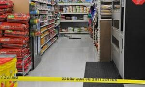 Ohio Walmart crime scene