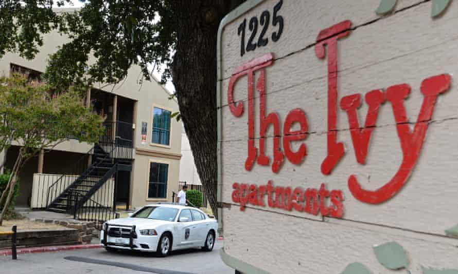 Ebola apartment in Dallas