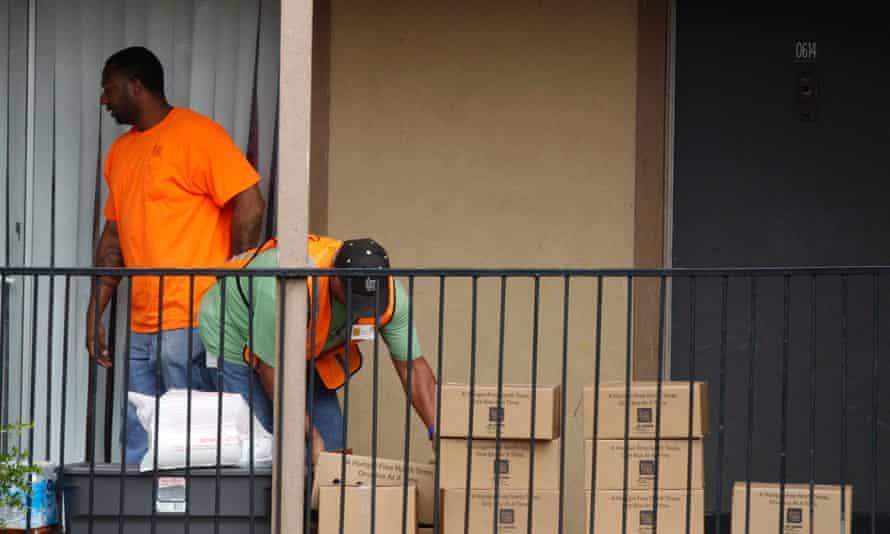 Ebola apartment Texas