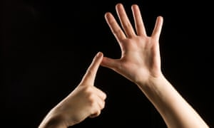 sign language.