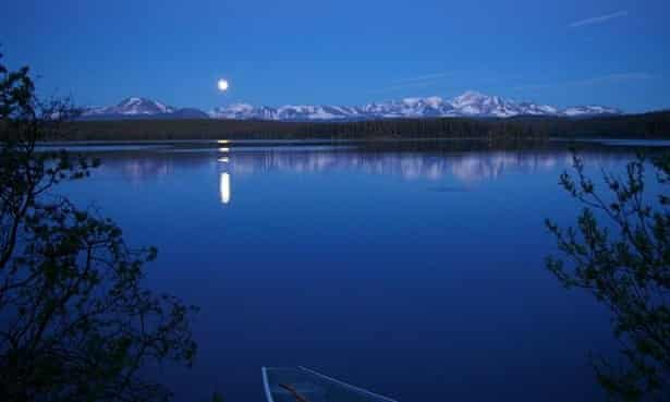Fish Lake on Tsilhqot'in territory in British Columbia, where the Indigenous Tsilhqot'in nation has prevented a copper and gold mine from being built.