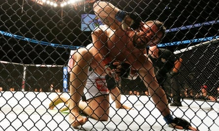 cage fighting