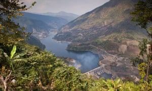 A dam in Arunachal Pradesh. Travelib Environment/Alamy