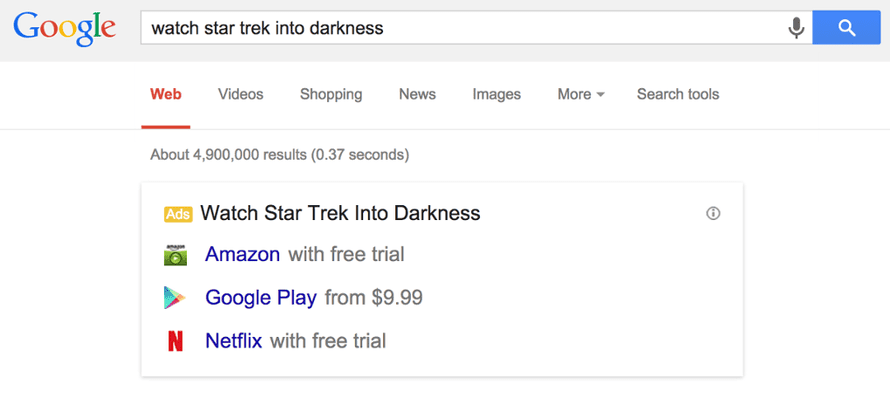 Google is testing new ad formats to promote legal services.