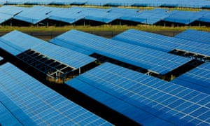 Lark Energy's Wymeswold Airfield, one of the UK's largest solar farms