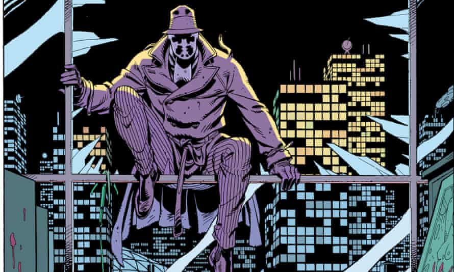 Alan Moore and Dave Gibbons' Watchmen, which was also turned into a major Hollywood film.