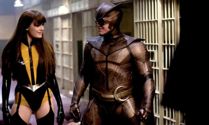 The Hollywood adaptation of the Watchmen, which drew heavily from Gibbons' artwork.
