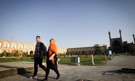 IRAN-ISFAHAN-WORLD HERITAGE-NAGHSHE JAHAN SQUARE