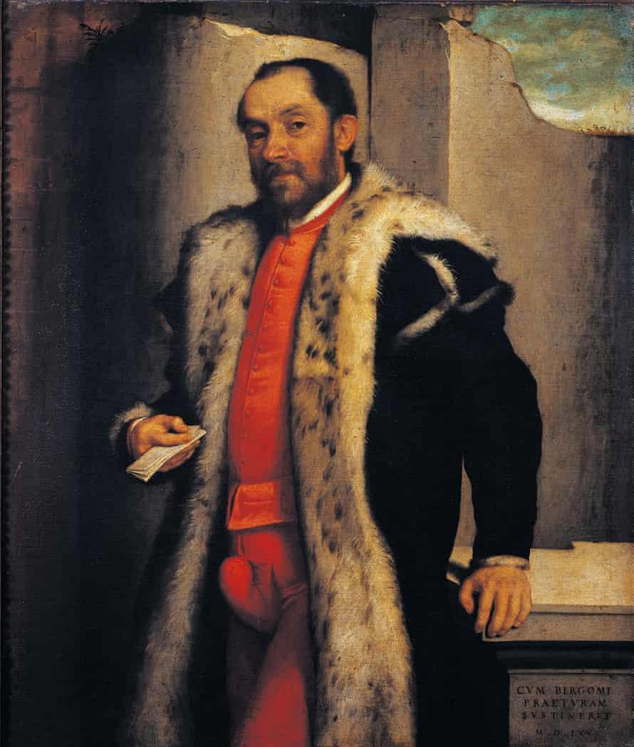 Antonio Navagero by Giovanni Battista Moroni, 1565, oil on canvas, 115 x 90 cm