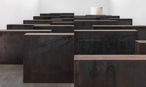 Richard Serra's giant steel work Ramble.