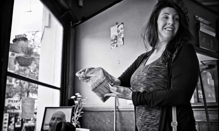 'Please know that you were loved' … Maria Constantinou, of the Ye Olde Rose and Crown. Photograph: Sarah Lee for the Guardian