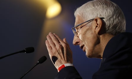 Powerful … Lord Martin Rees at the Extinction Marathon