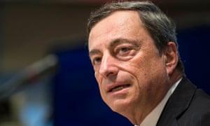 ECB governor Mario Draghi