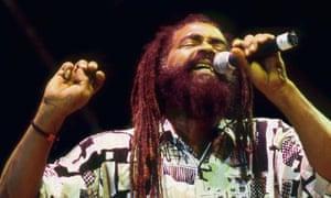 John Holt performing in Kingston, Jamaica, in 1992.