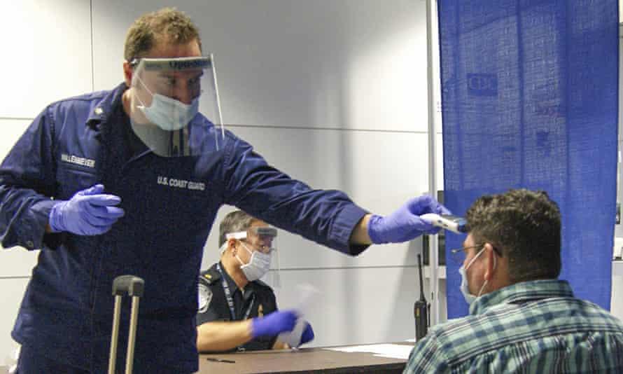 Ebola screening in the US