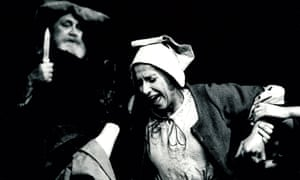 Joss Ackland, left, in Henry IV