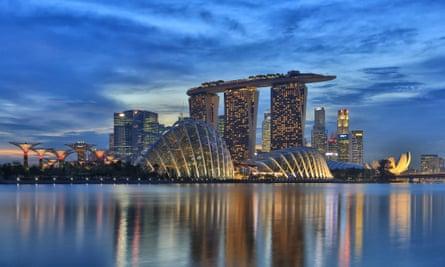 Singapre Skyline
