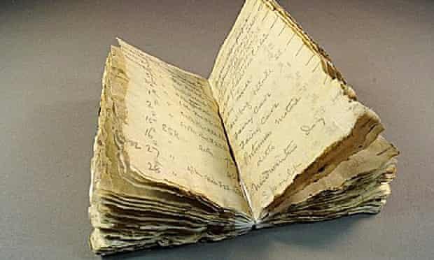 George Murray Levick notebook Captain Scott
