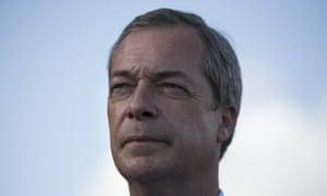 Nigel Farage in Rochester