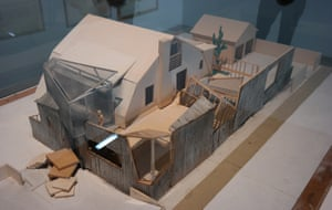 Ad hocism … A study model for Frank Gehry's own house in Santa Monica, 1978, is one of the highlights of the Pompidou show.