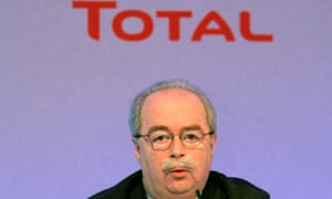 Christophe de Margerie, the chief executive of Total Oil, in a 2008 file photograph.