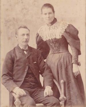 Gough Whitlam's grandparents Henry Hugh Gough Whitlam and Janet Steele