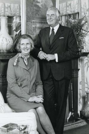 Margaret and Gough Whitlam