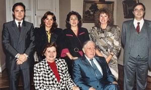 Pinochet family photograph